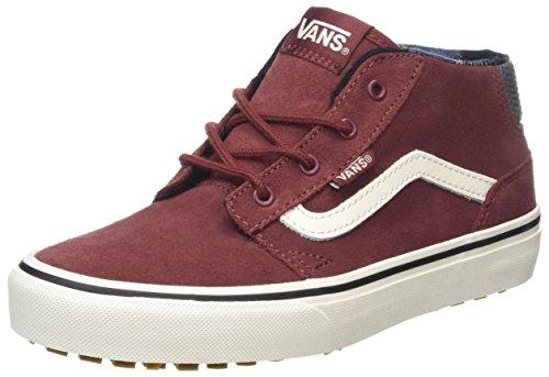 Jungs Vans Schuhe (Vans Unisex-Kinder Chapman Mid MTE Laufschuhe, Rot (Madder Brown/Marshamallowmte), 36 EU)