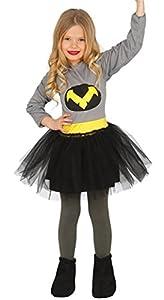 Guirca- Disfraz niña murciélago, Talla 7-9 años (83218.0)