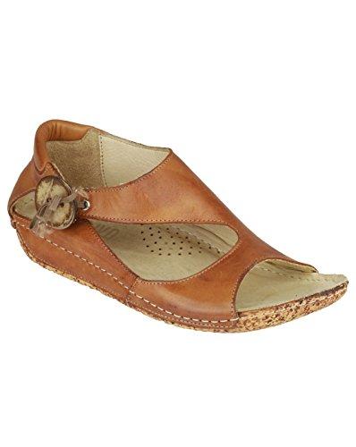 Riva Cartier - Sandales en cuir - Femme Tan