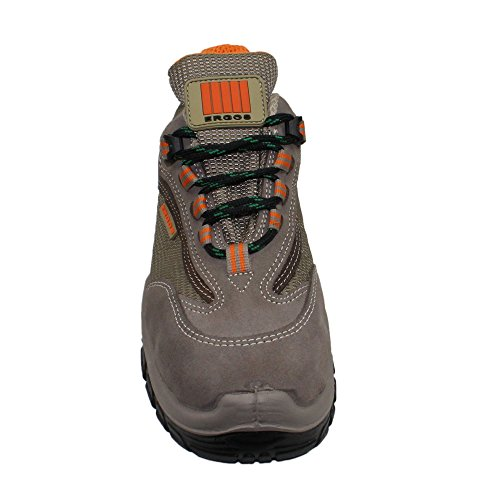 Ergos capri 3 chaussures de sécurité s1P sRC berufsschuhe 00823 chaussures Marron - Marron