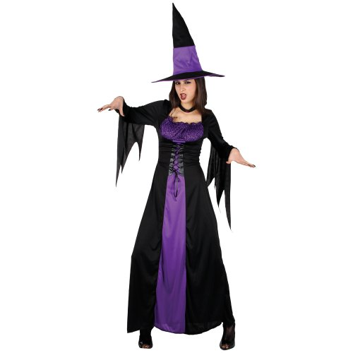 Verwunschene Hexe Horror Verkleidung Frauen Karneval Halloween Kostüm (Kostüme Für Frauen Hexen)