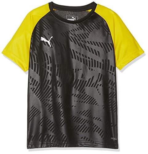 ning Jersey Core Jr Trikot, Black-Cyber Yellow, 152 ()
