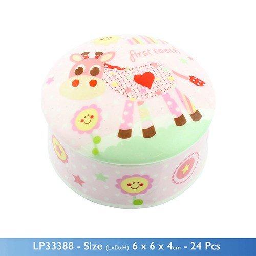 Little Sunshine - Primo Dentino, Per Bambina, Colore Rosa/Pmc-Vaso In Ceramica