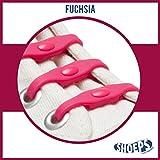 Shoeps Premiers Pas Lacets Chaussures Fuchsia