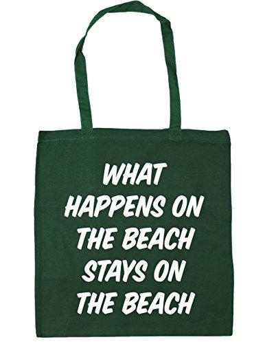 Hippowarehouse, Borsa Da Spiaggia Per Donna, Bottiglia Verde