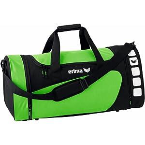 Erima CLUB 5 Sporttasche, Green/Schwarz, S