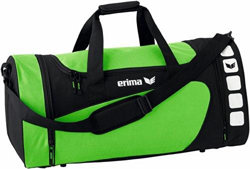 erima Sporttasche, Green/Schwarz, L, 723420