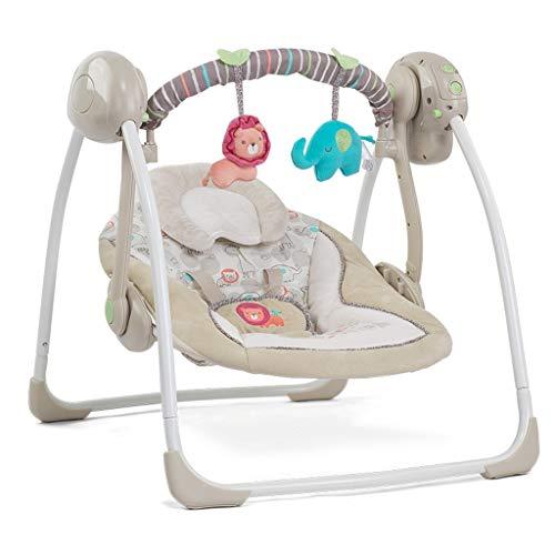 Byx- Neugeborenen liefert Baby elektrische Schaukelstuhl beruhigende Wiege Shake Bett Schaukel -Baby Schaukelstuhl (Farbe : A)