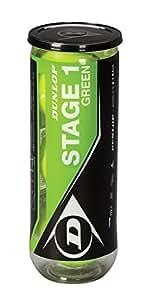 dunlop mini tennis stage 1 gr n 60er plus eimer amazon. Black Bedroom Furniture Sets. Home Design Ideas