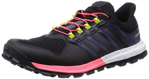 Adidas Adistar Raven Boost Women\'s Trail Laufschuhe - AW15, CBLACK/CBLACK/FLARED, 36 2/3 EU
