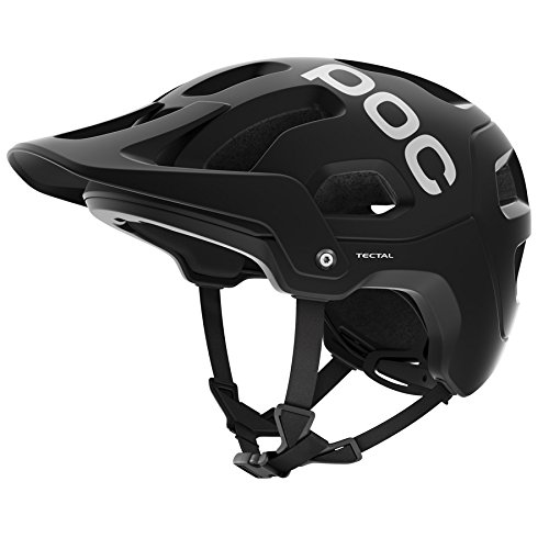 POC Tectal, Unisex Erwachsene Fahrrad Helm,schwarz (Uranium Black), M-L (55-58 cm)