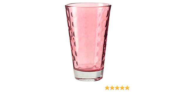 Leonardo Optic 6er Set Becher Groß Saftglas Trinkglas Wasserglas 300 ml 35247