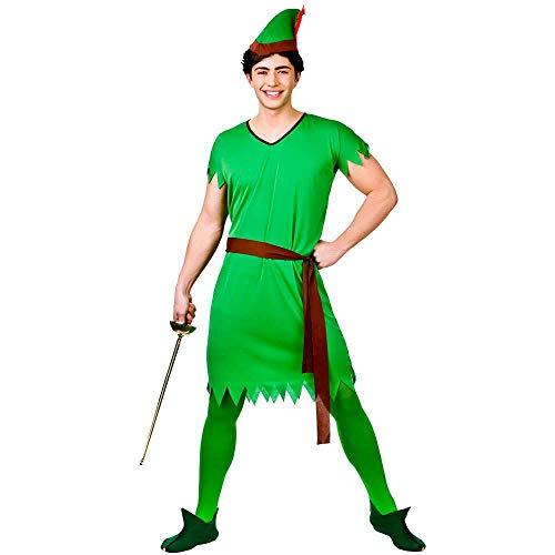 Lost Boy/Elf/Robin Hood - Adult Costume Man: XL (Chest: ()