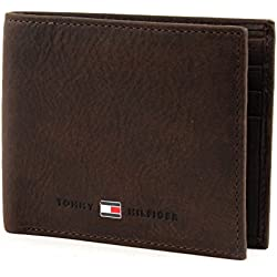 Tommy Hiliger, Johnson Mini CC Wallet - Cartera, Unisex, Color Brown, Talla OS