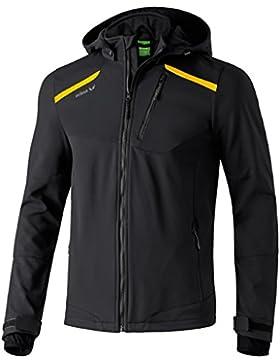 Erima - Chaqueta, color negro y amarillo, todo el año, hombre, color negro - Schwarz/Curcuma, tamaño S