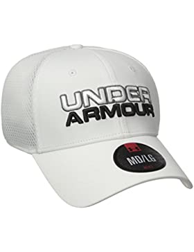 Under Armour Men's Under Armour Cap Gorra de béisbol, Hombre, Blanco (White), M/L