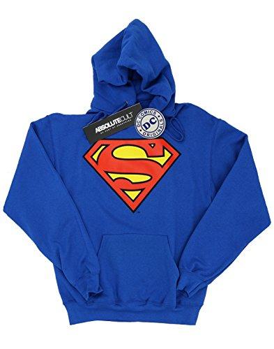 Cappuccio Dc Uomo Comics Logo Superman Felpa Con xaFxw