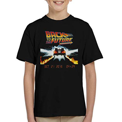 Kids Back to The Future Fire Trails Tee