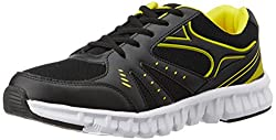 Sparx Womens Black and Yellow Running Shoes - 6UK (SX0079L)