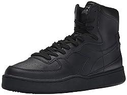 Men s MI Basketball Shoe Black 8.5 D(M) US