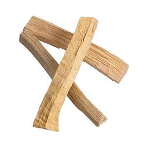 Räucherwerk: 3x Palo Santo Holzstab (je ca 4-6gr, 100mm lang, 9-14mm hoch/breit) v. Native-Spirit | Heiliges Holz, spirituelle Reinigung