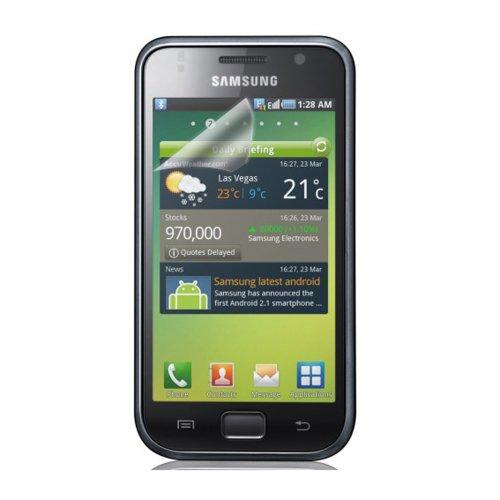 Samsung Displayschutzfolie Screen Protector für Galaxy S - 3er Pack