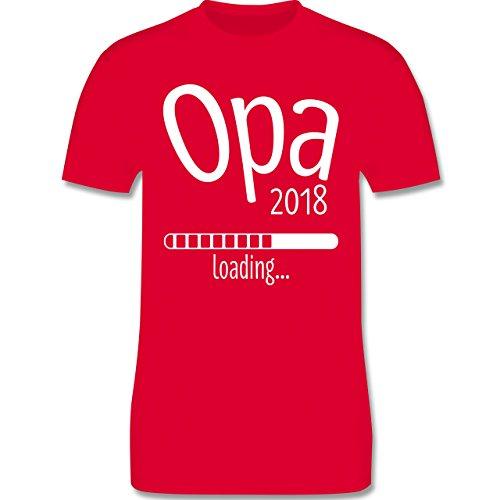 Opa - Opa 2018 loading - Herren Premium T-Shirt Rot