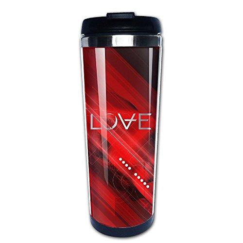 Stainless Steel Angels & Airwaves Logo Platinum Style Tumbler Coffee Mug(Tazzine da caffè)