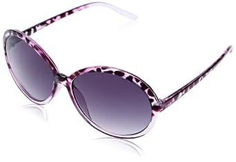 M:UK - Lunettes de Soleil Femme FINE PERFECT ROUND - Violet (Purple) - Taille unique