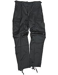 """BDU Zip-Off Feldhose """"Miltec"""", 11510002, Schwarz"""