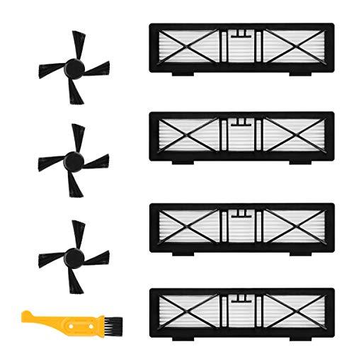POWER-XWT Pièce de Rechange Filtre pour série Neato Botvac 70 70e 75 80 85 85E Brosse de Rechange BotVac et BotVac D