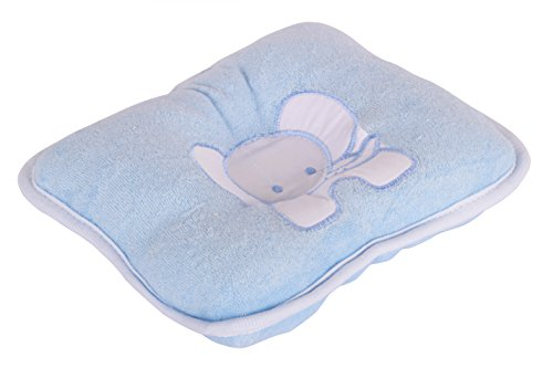 Baby Pillow ( 22 X 19 Cm _ Of281-Blue )