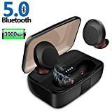 Wireless Earbuds, JoyGeek 5.0 Bluetooth Earphones 3000mAh TWS True Wireless Headphones Waterproof in