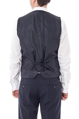 ANTONY MORATO - Herren slim fit weste vest mmve00038/fa600040 Dunkelblau