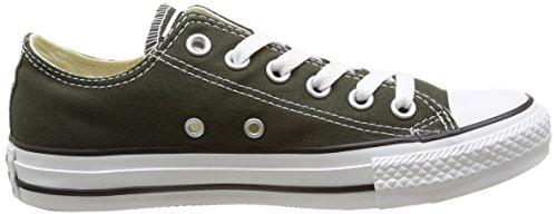 Converse Chuck Taylor All Star Ox, Unisex-Erwachsene Sneaker Grün - Vert (Vert Foncé)