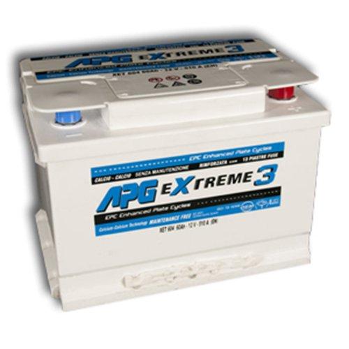 APG XET605 Extreme 3 - Batteria auto, 65Ah