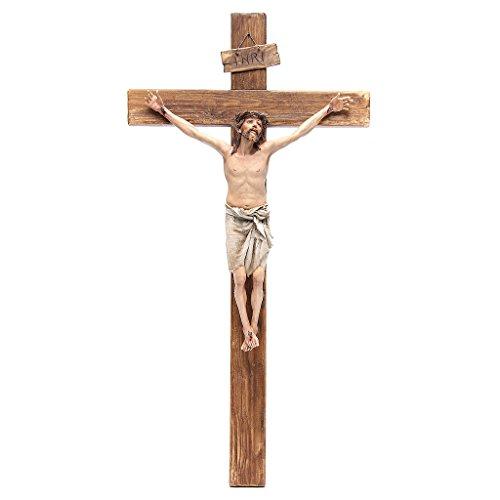 Kruzifix aus Terrakotta 60x30cm Angela Tripi