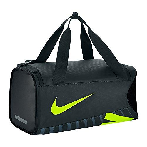 Nike Herren Alpha Adapt Crossbody S Sporttasche, Seaweed/Black/Volt, 26 x 54 x 28 cm