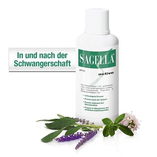Sagella active Intimwaschlotion 100 ml