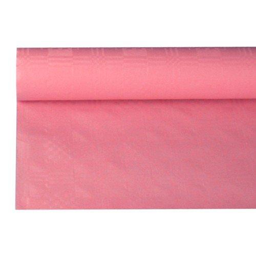 1 Papier-Tischdeckenrolle, rosa, 120 cm x 8 m