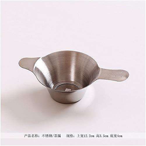 Heavy Duty Edelstahl Tee Abfluss Tee Filter Bildschirm Eimer Rack Tasse Tee Tee Zubehör Sonderpreis, 304 Edelstahl/Tee Leckage (groß) ()