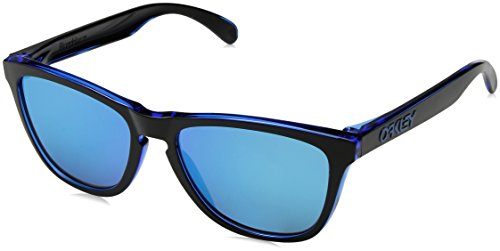 Oakley Herren Frogskins 9013A9 55 Sonnenbrille, Blau (Eclipse Blue/Sapphireiridium), 55 mm
