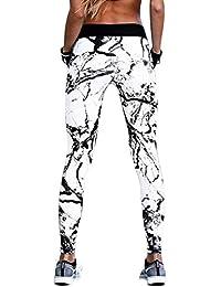 Amazon.fr   Blanc - Leggings de sport   Sportswear   Vêtements a88f23be660