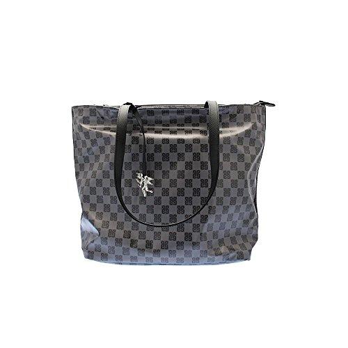 PIERO GUIDI Tasche SOFT Damen Nylon Schwarz - 610143082-01 (Tasche Tessuto Schwarz)