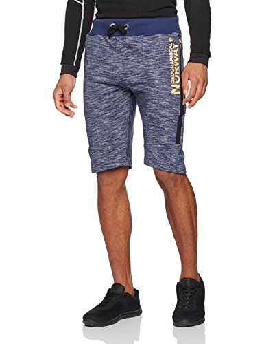 Geographical Norway Herren Sportshorts Plashburn Men Blau (Navy)