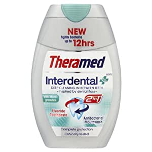 Theramed 2-in-1 Interdental Toothpaste 75ml (Pack of 3)