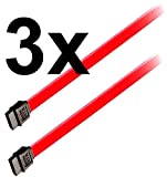 Generic JRT-ADE1-151014-16 [7-1196] TA3 Daten K 3x 60cm SATA3 Daten Kabel gerade sata2 cable SATA 3 Stk S-ATA3 Neu SATA 3 60 cm new sata2 cable 3x 60cm