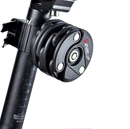 amzn prime Designer-Faltschloss-Fahrrad mit Halterung :: Ketten-Schloss Rund mit Schlüssel :: e-Bike, Motorrad, Roller   Sicherheitsstufe 15   High-Tech Bike Lock :: Bicycle Lock :: 2er