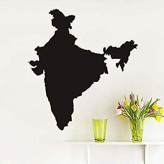 Indien Karte kreative exquisite Home Art Deco Wandaufkleber mit Größe und s