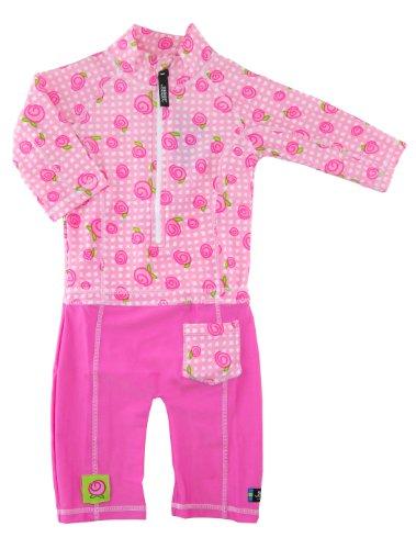 Swimpy Mädchen UV Strand und Schwimmanzug, Baby Rosa, 1.5-2 Jahr, 34-SB6000R/05-1YRS